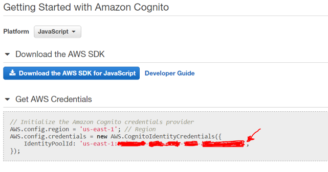 Getting Started with Amazon Cognito