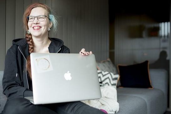 Mirkka - Fronttikoodaaja ja internetstylisti