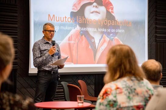 Dad Challenge wins Miehen työ 2019 award