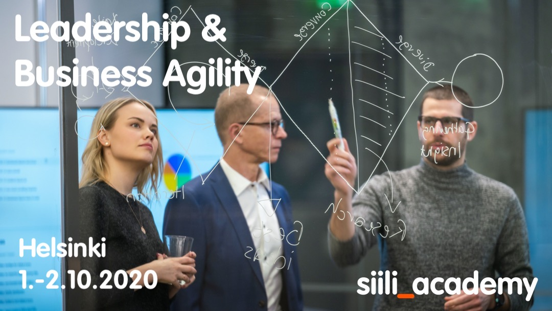 Leadership and Business Agility | Helsinki 1.-2.10.2020