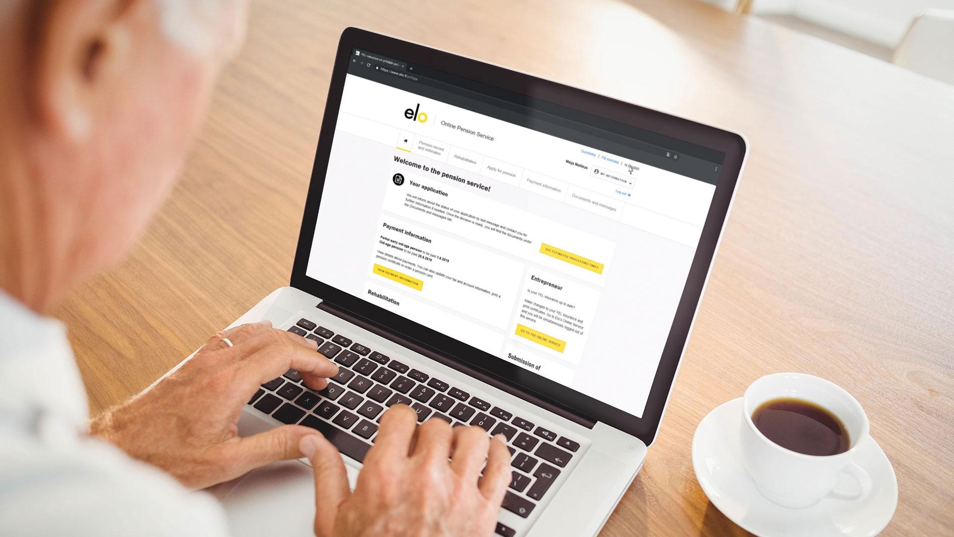 Työeläkeyhtiö Elo – Ihmislähtöistä eläkeasiointia