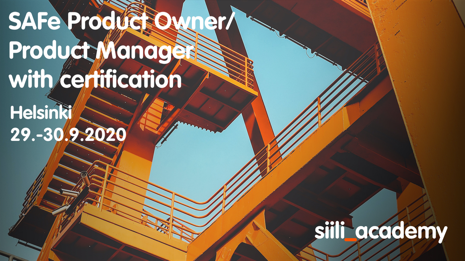 SAFe Product Owner/Product Manager with certification | Helsinki 29.-30.9.2020